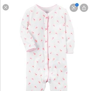 Carter's Pink Flamingo Pajamas